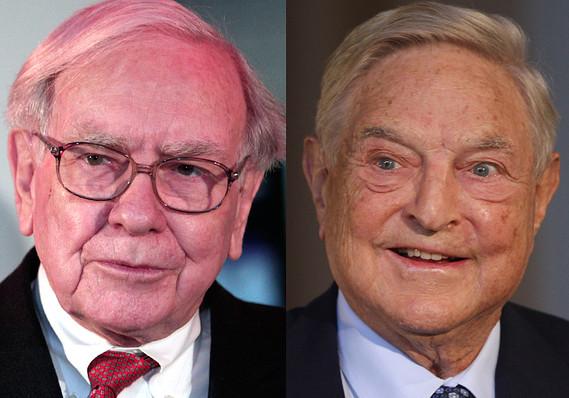 Warren Buffett George Soros