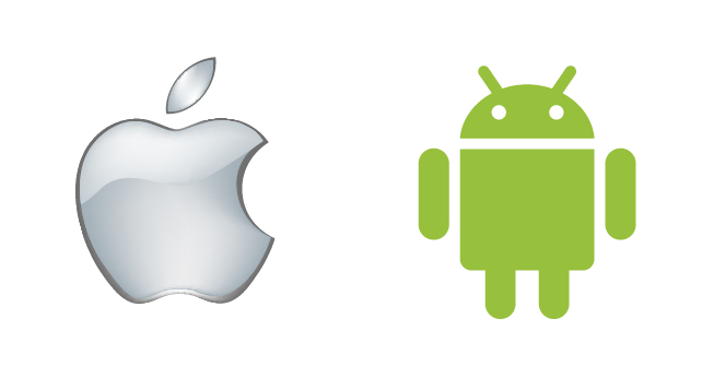 android-apple-logo